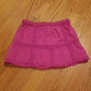 PEEK Magenta NWT Baby Mariah Skirt XL